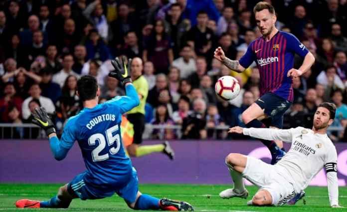 Hasil Liga Spanyol, Real Madrid vs Barcelona
