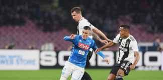 Hasil Napoli vs Juventus, Liga Italia