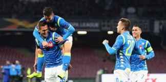 Hasil Napoli vs Salzburg, Liga Europa Babak 16 Besar Leg Pertama