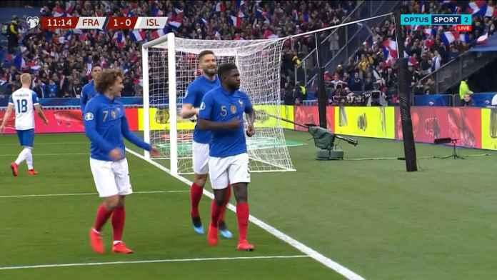 Hasil Prancis vs Islandia di Kualifikasi Piala Eropa 2020
