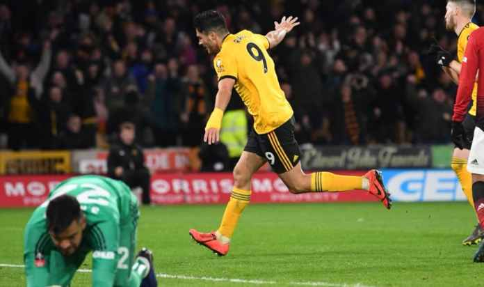 Hasil Wolves vs Manchester United di perempat final Piala FA