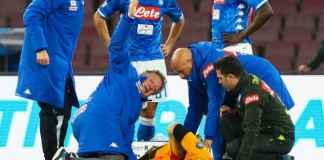 Kiper Napoli David Ospina cedera