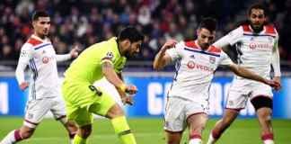 Lima ribu Suporter Lyon Penuhi Kandang Barcelona