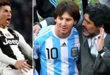Maradona: Argentina Banggakan Messi, Tapi Cristiano Ronaldo Binatang Buas