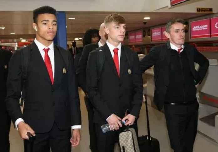 Manchester United Bawa Lima Pemain Remaja ke Kandang PSG