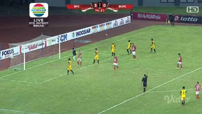 Hasil Bhayangkara FC vs Bali United Skor 4-1, The Guardian Melaju ke Perempat Final