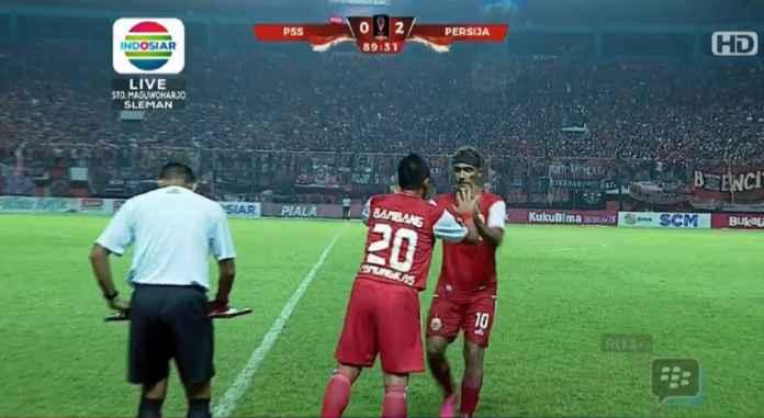 Hasil PSS Sleman Vs Persija Jakarta Skor 0-2, Macan