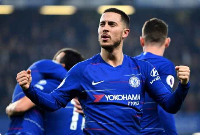 Eden Hazard Persembahkan 50 Assist untuk Chelsea