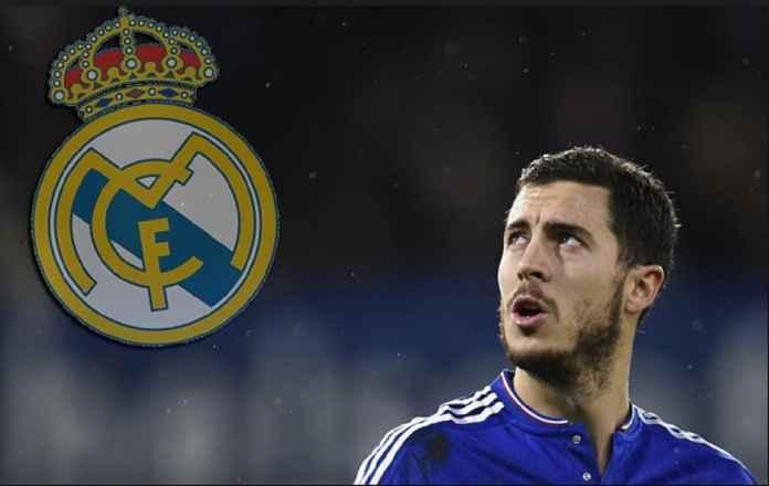 Real Madrid Pasrah Chelsea Pasang Harga Baru untuk Eden Hazard