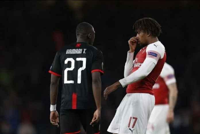 Alex Iwobi Bikin Heboh Medsos Usai Laga Arsenal Kontra Rennes