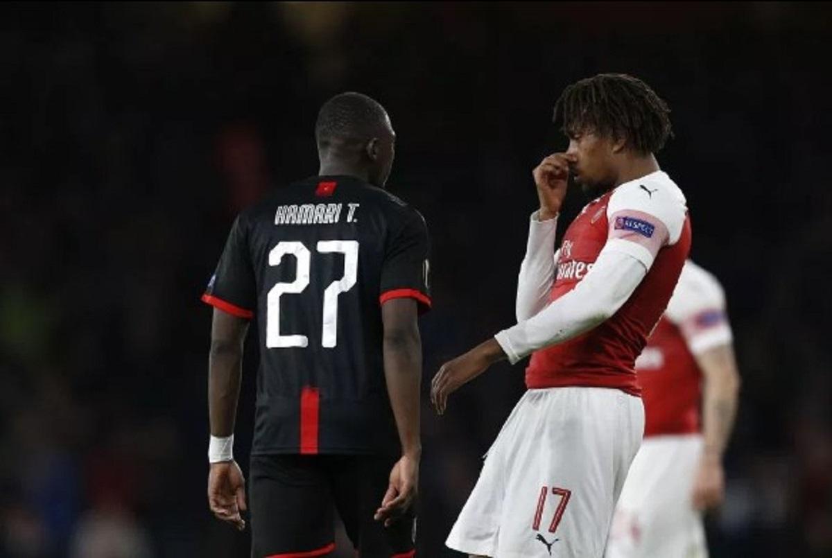 Alex Iwobi Bikin Heboh Medsos Usai Laga Arsenal Kontra