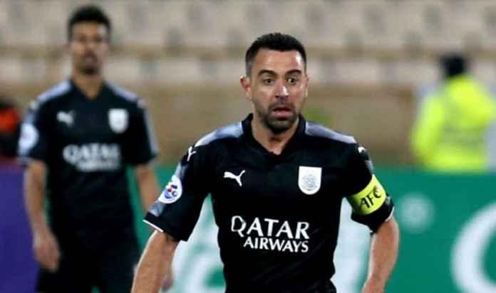 Legenda Barcelona Xavi Hernandez Batal Bela Timnas Catalan