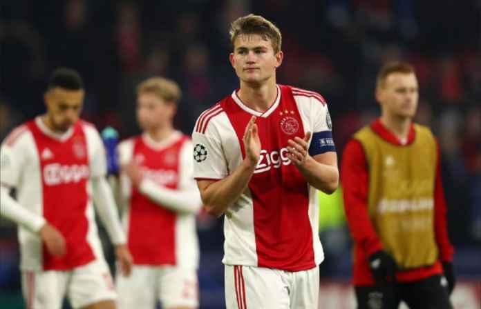 Matthijs de Ligt Terbuka Tinggalkan Ajax Amsterdam dan Gabung Liverpool