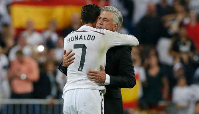 Cristiano Ronaldo Tak Pernah Gagal, Kata Ancelotti