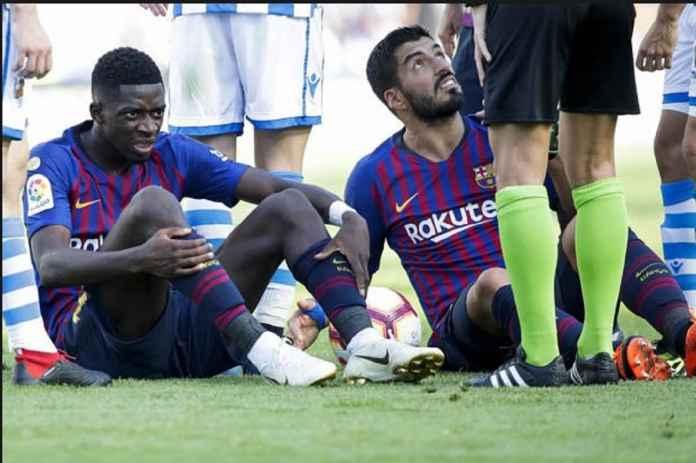 Barcelona Tanpa Luis Suarez dan Ousmane Dembele Hadapi Espanyol