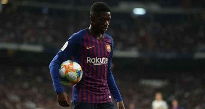 Barcelona Salahkan Tim Medis Setelah Ousmane Dembele Cedera Lagi