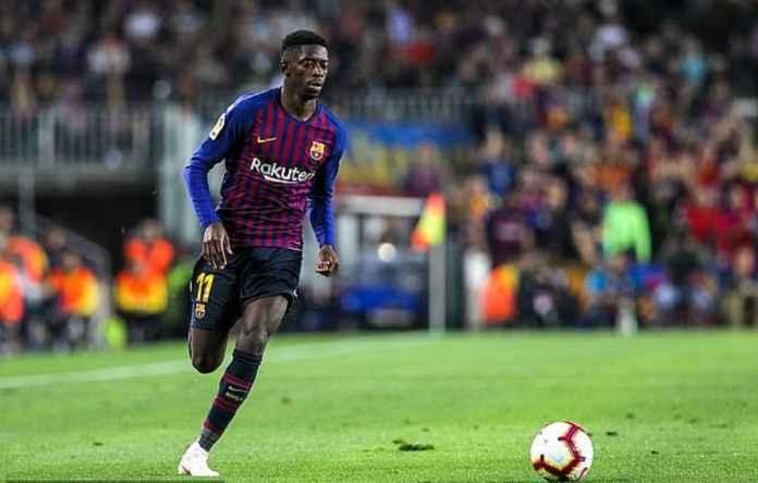 Ousmane Dembele Bekerja Paling Keras di Barcelona