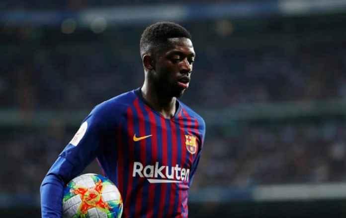 Barcelona Khawatirkan Kondisi Ousmane Dembele Jelang Menjamu Lyon