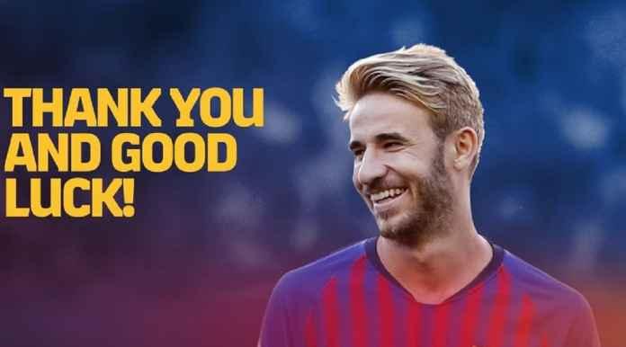 Sergi Samper Tinggalkan Barcelona dan Gabung Iniesta di Vissel Kobe