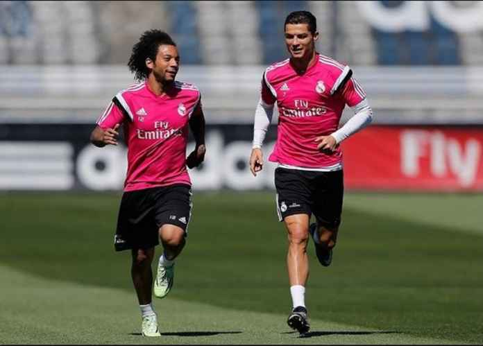 Cristiano Ronaldo dan Marcelo Reuni di Juventus