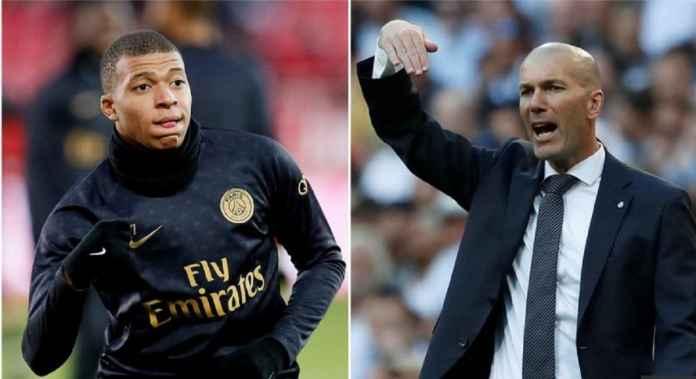 Zidane Minta Real Madrid Rebut Kylian Mbappe dengan Segala Cara