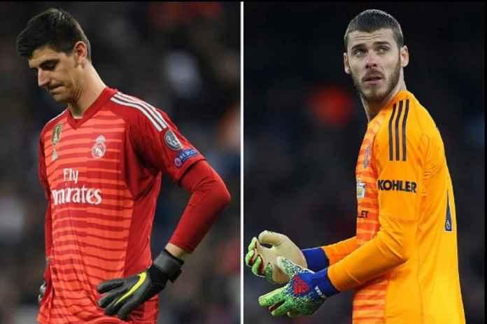 Thibaut Courtois Tolak Tinggalkan Real Madrid dan Ditukar Kiper Manchester United