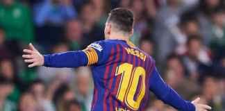 Lionel Messi cetak hat-trick di laga Real Betis vs Barcelona di Liga Spanyol