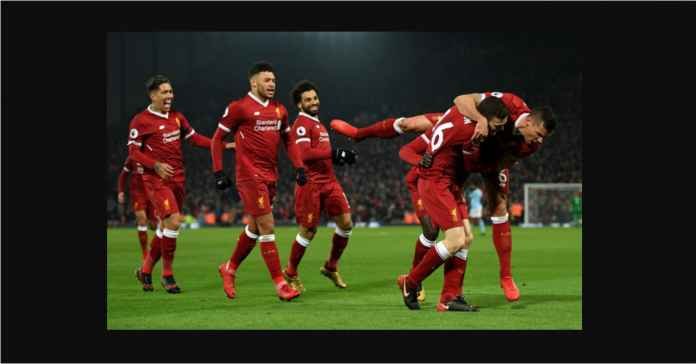 Liverpool Sumbang Dua Dari Tujuh Pemain Dengan Sprint Paling Sering
