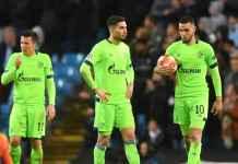 Mental pemain Schalke hancur saat melawan Manchester City di Etihad