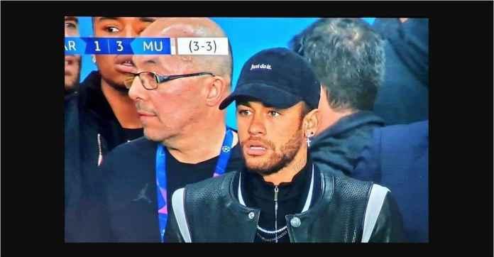 Neymar Menangis dan Memaki Usai PSG Kalah Dari Manchester United