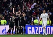 Real Madrid tersingkir dari Liga Champions, Real Madrid vs Ajax Amsterdam