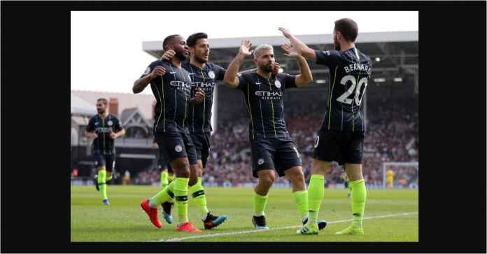 Manchester City Unggul 2-0! Aguero Kini Dua Gol di Atas Mohamed Salah