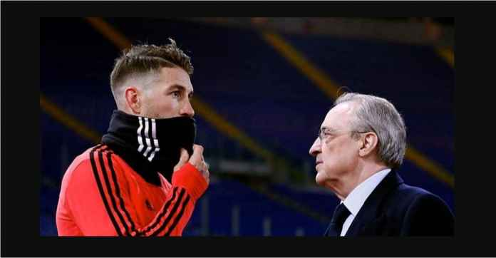 Sergio Ramos dan Presiden Real Madrid Saling Nyolot Usai Kalah Dari Ajax