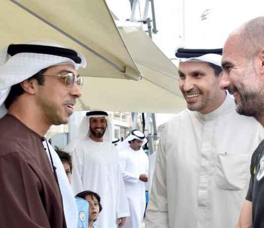 Begini Cara Pep Guardiola Minta Uang Belanja ke Sheikh Mansour