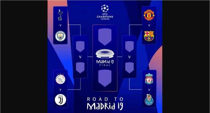 Pertarungan Ronaldo vs Messi Bisa Terjadi di Final Liga Champions