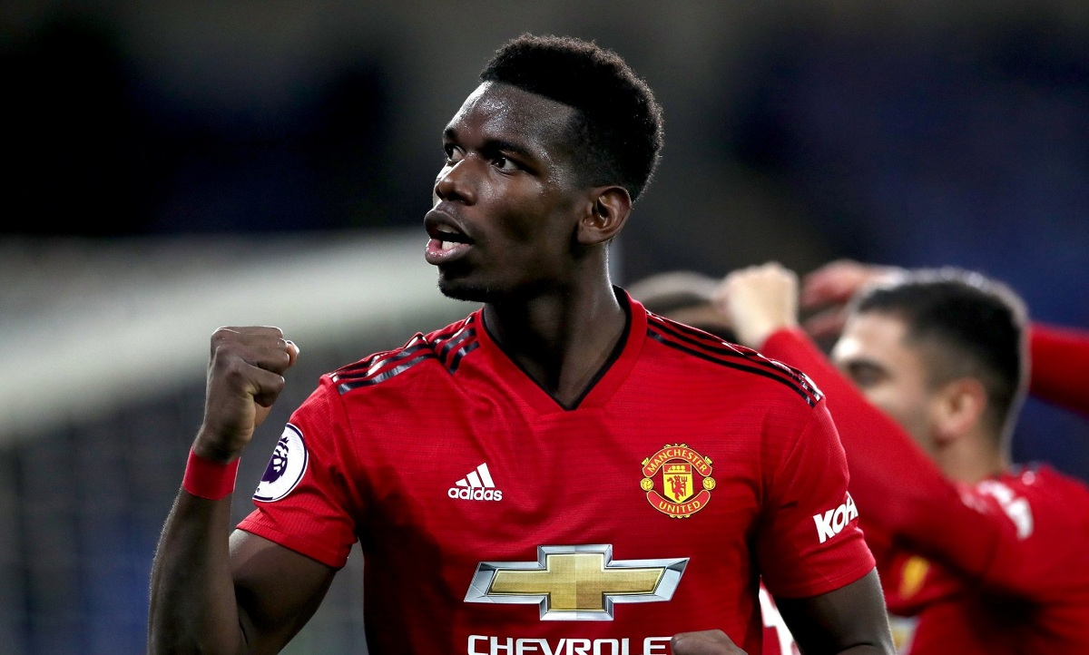 Susunan Pemain Arsenal Vs Manchester United Paul Pogba