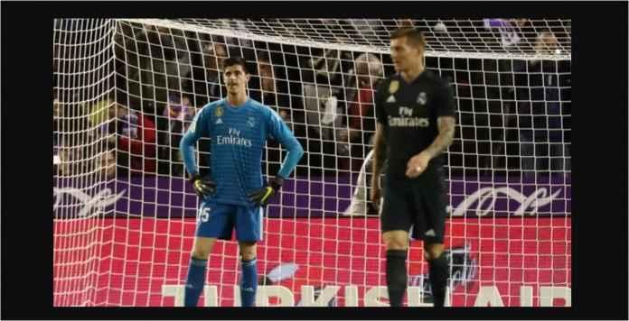 Thibaut Courtois, Jauh-jauh Datang Dari Chelsea, Disingkirkan oleh Zidane