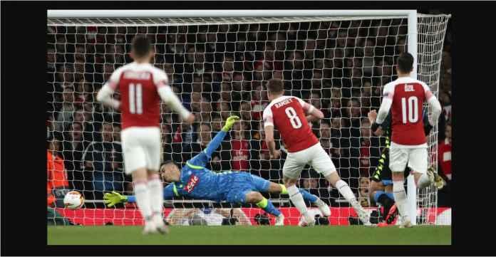 Hasil Arsenal vs Napoli 2-0, The Gunners Akan Menangis Lihat Ramsey Pergi