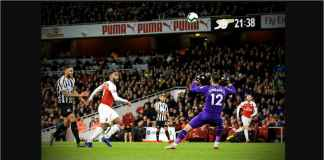 Lihat Dua Gol Hebat Arsenal ke Gawang Newcastle United