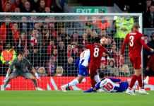 Babak Pertama Liverpool vs FC Porto, Liga Champions
