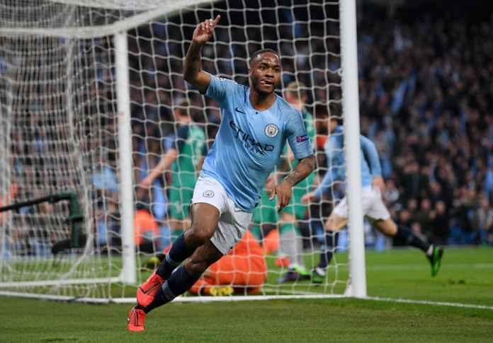 Babak pertama Manchester City vs Tottenham Hotspur skor sementara 3-2 agregat 3-3