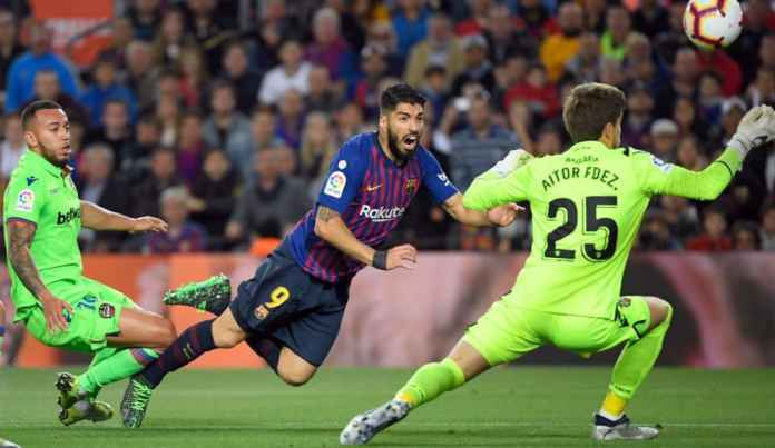 Barcelona vs Levante masih tanpa gol di babak pertama