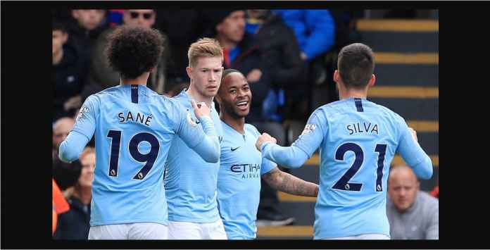 Hasil Crystal Palace vs Manchester City 1-3, Liverpool Stres!