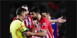 Diego Costa Dihukum Delapan Laga Karena Pegang-pegang Tangan Wasit