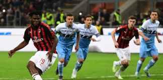 Hasil AC Milan vs Lazio 1-0, Diselamatkan Penalti Franck Kessie