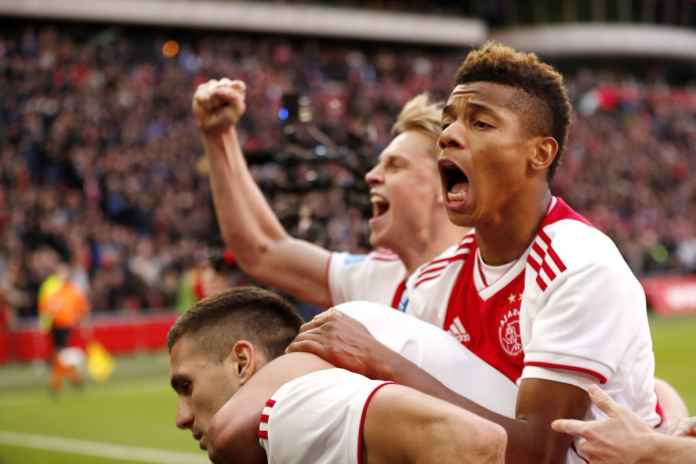 Hasil Ajax Amsterdam vs Juventus, leg pertama babak perempat final Liga Champions