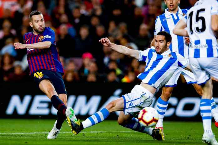 Hasil Barcelona vs Real Sociedad dalam laga pekan ke-33 Liga Spanyol