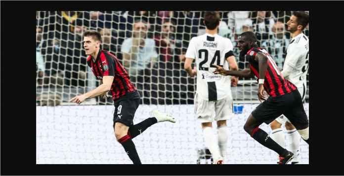 Hasil Juventus vs Milan 2-1, Pesaing Ronaldo Menjauh Lagi Satu Gol