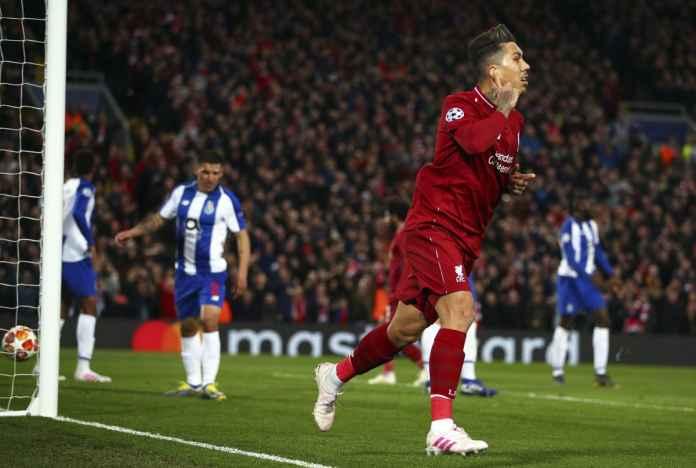 Hasil Liverpool vs Porto, hasil Liga Champions babak perempat final leg pertama