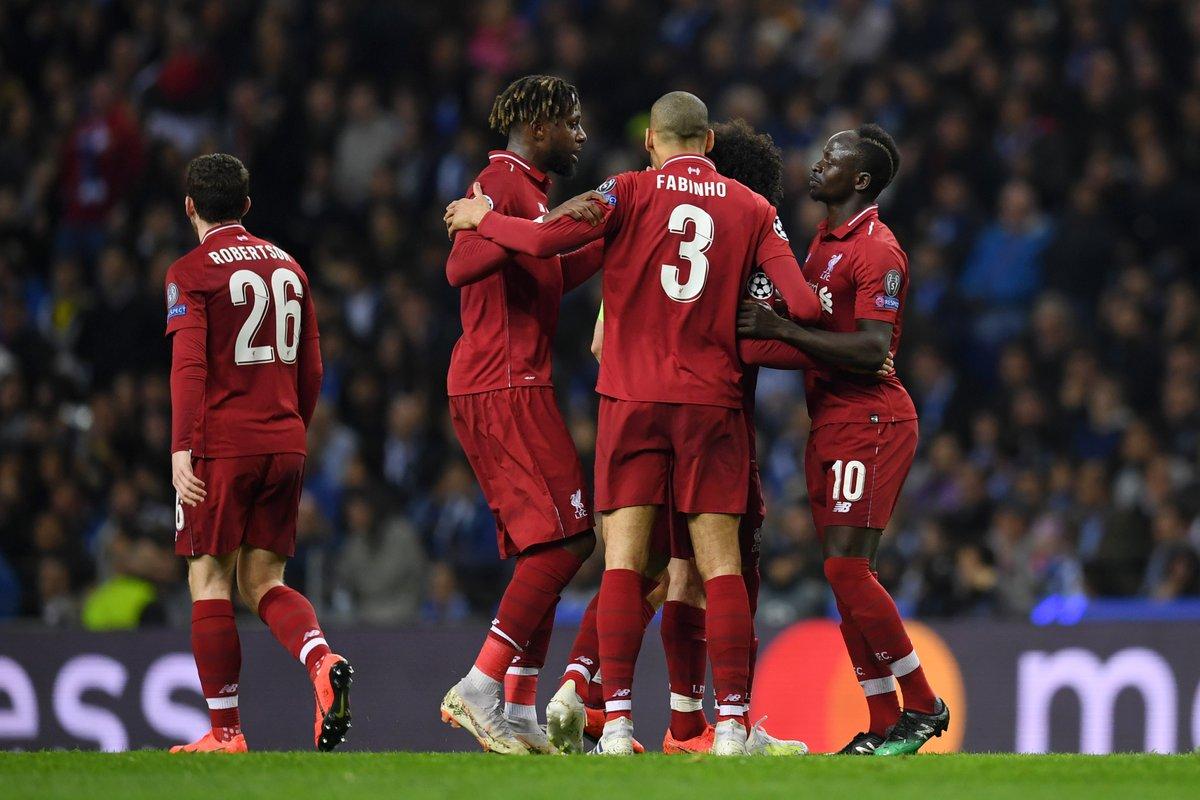 Hasil Porto Vs Liverpool 1 4 Kemenangan Sempurna Antar Ke